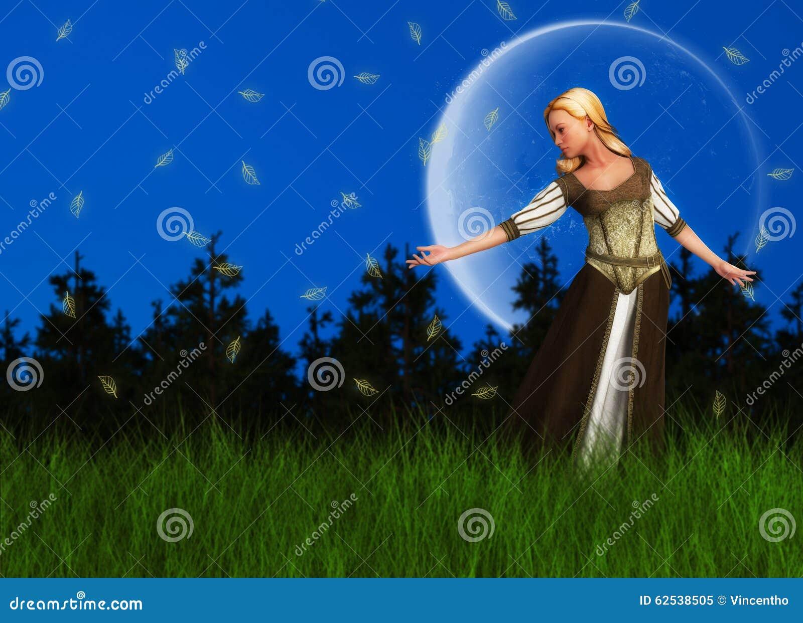 童话不可思议的梦想公主Illustration