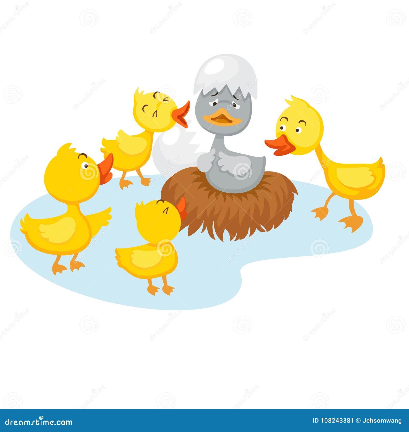 童话丑小鸭