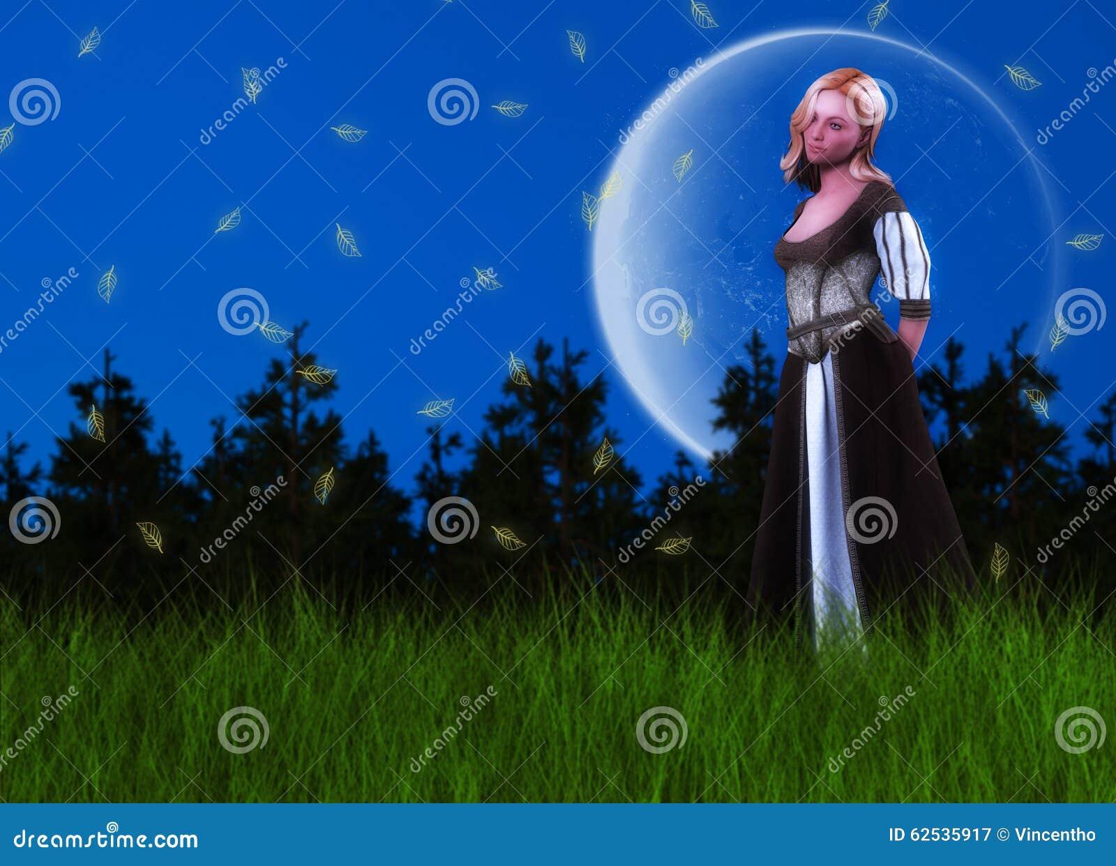 童话Dreamy Background公主