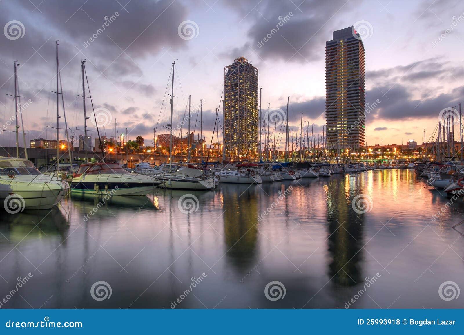 端口Olimpic,巴塞罗那,西班牙