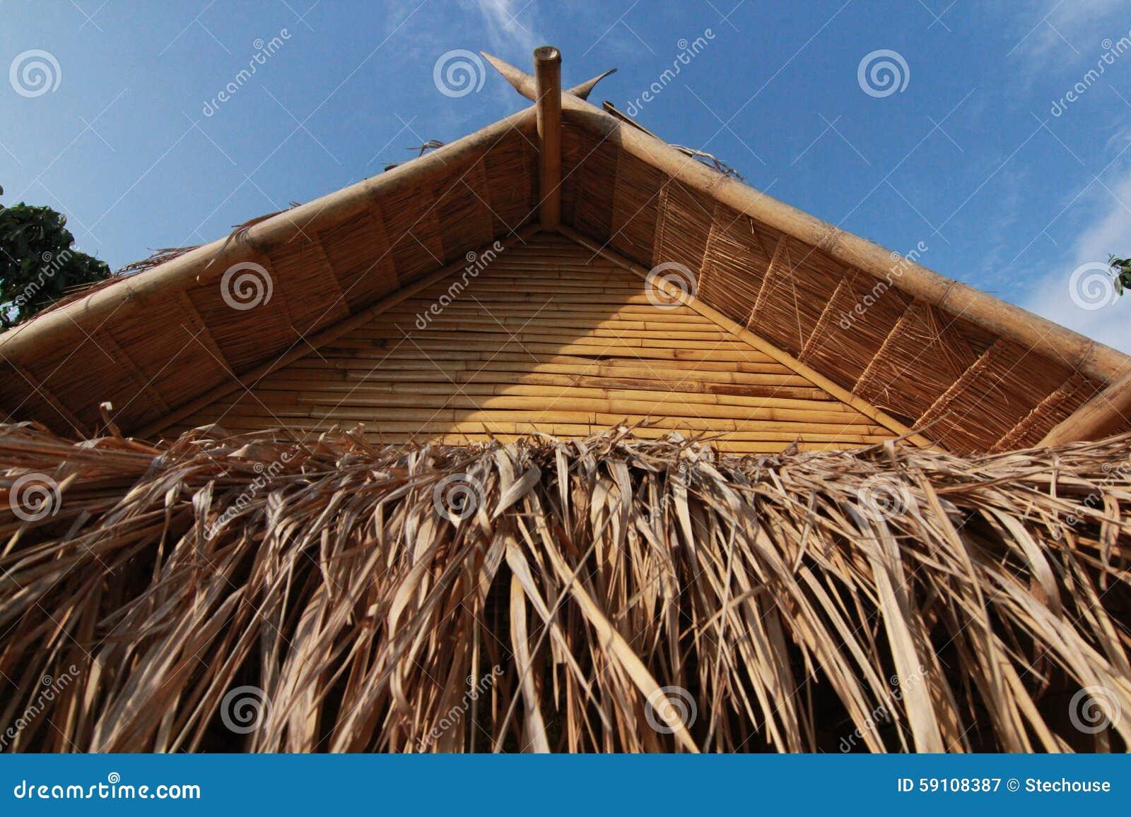 竹小屋在泰国