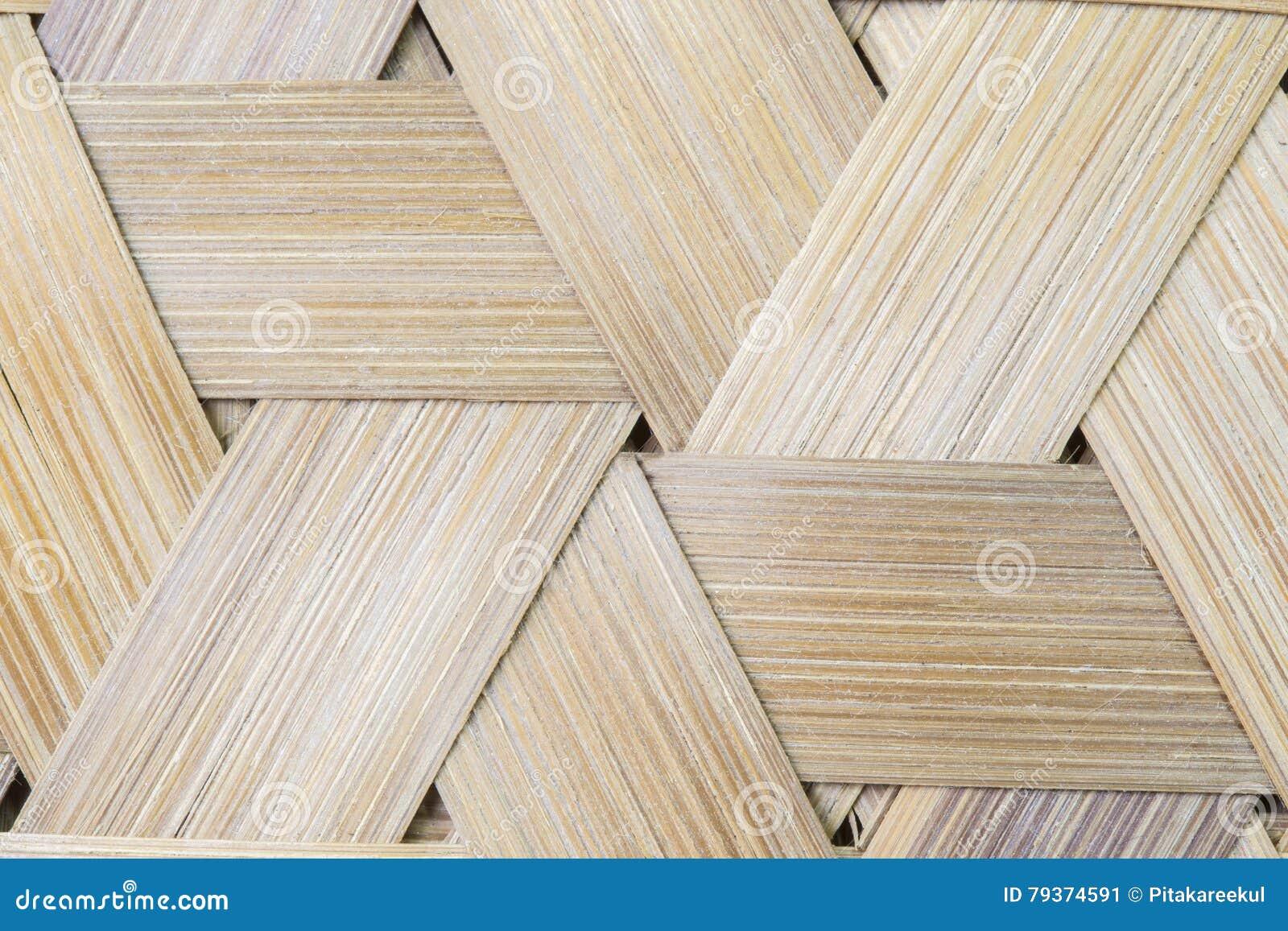 竹织法三角无缝的背景