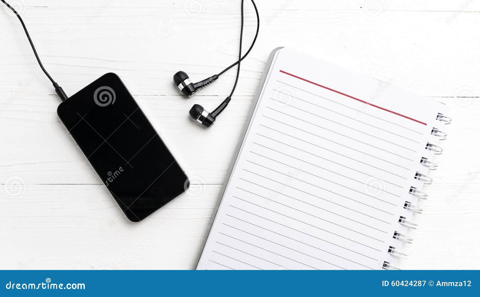 笔记薄和手机