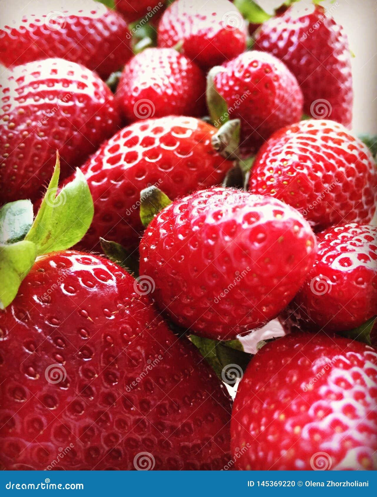 第一个草莓