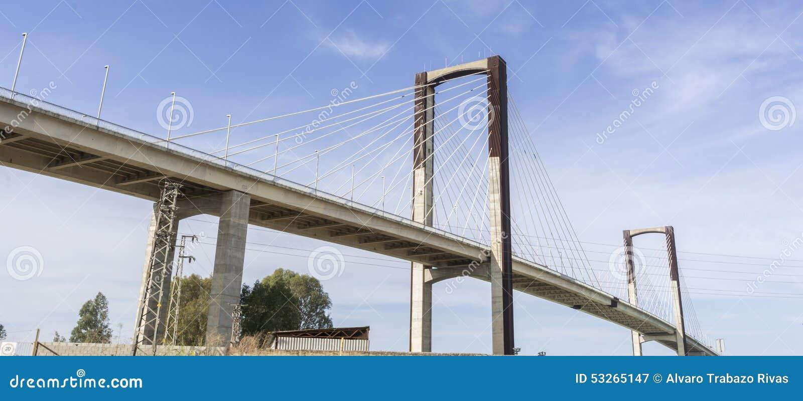第五个百年的桥梁 塞维利亚西班牙