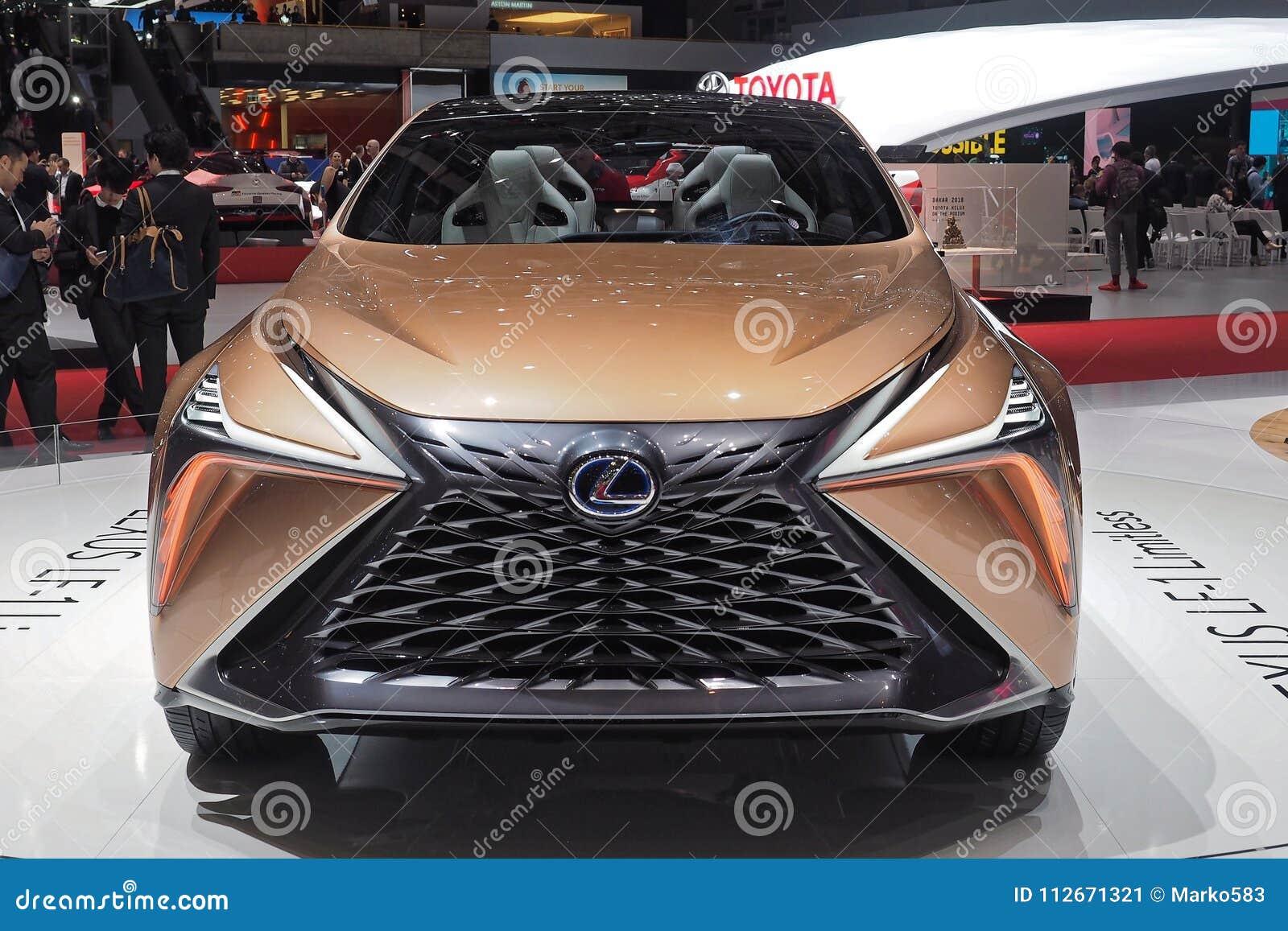 第88个日内瓦国际汽车展示会2018年-不可限量的凌志LF-1