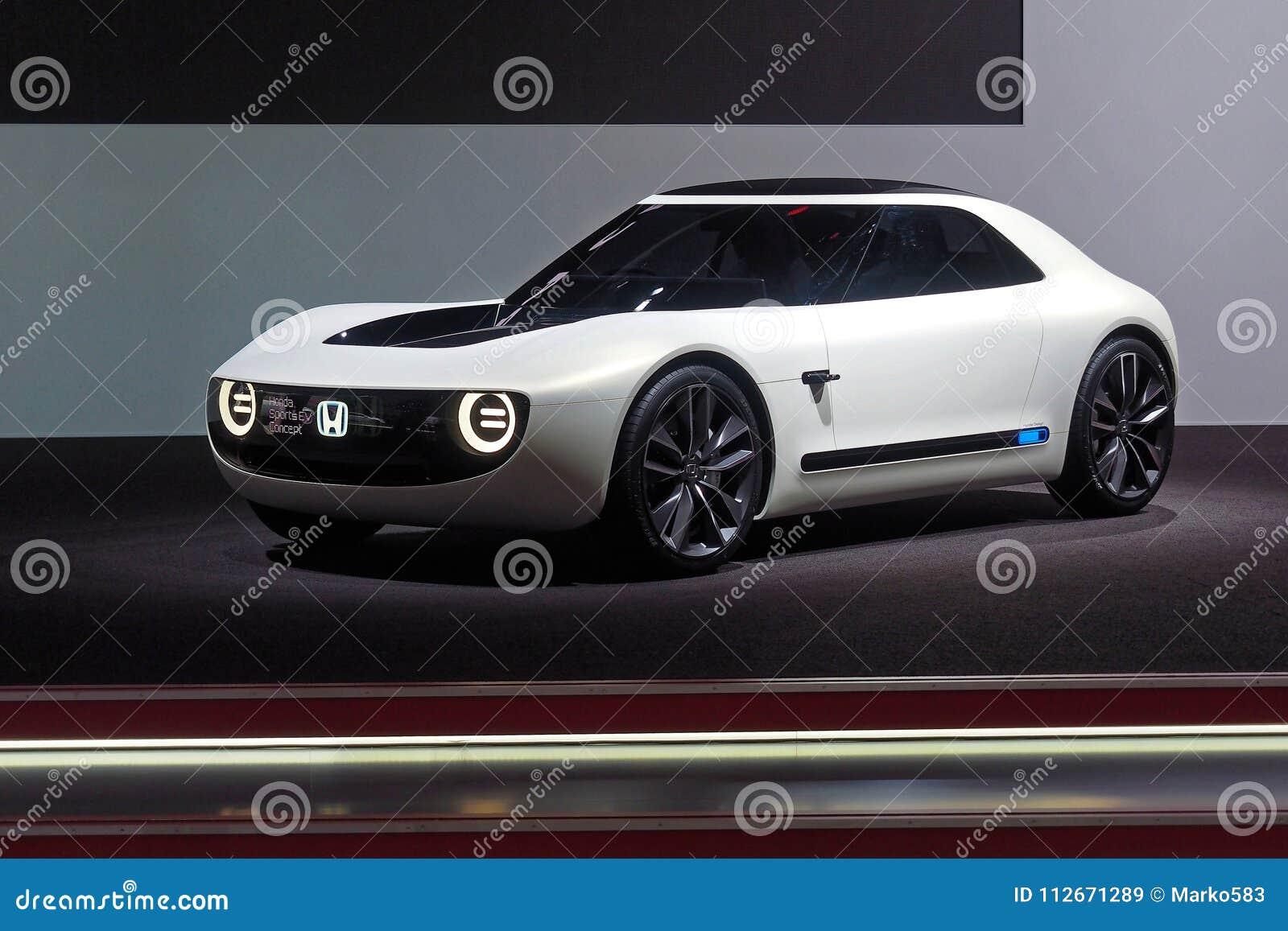 第88个日内瓦国际汽车展示会2018年-本田体育EV概念