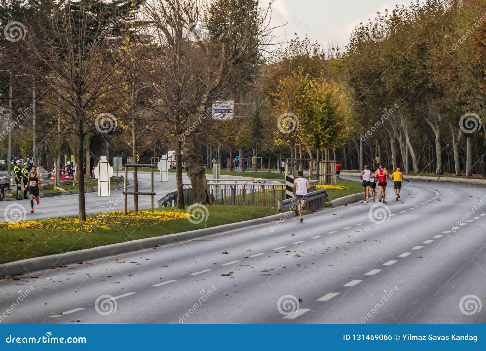 第40场国际伊斯坦布尔马拉松和运动员