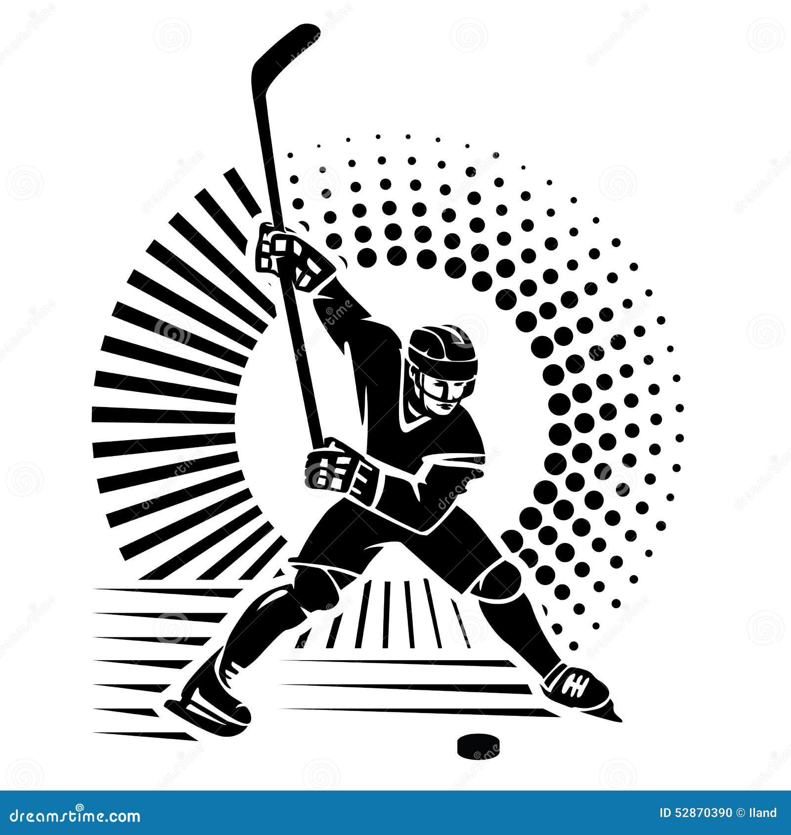 第2 backgroound黑色计算机设计火图象曲棍球运动员样式
