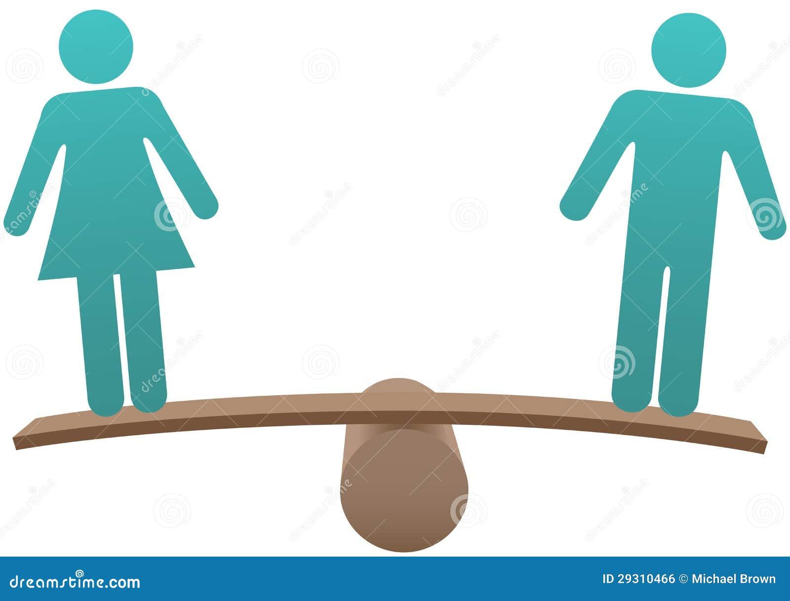 等于男女性别平等平衡