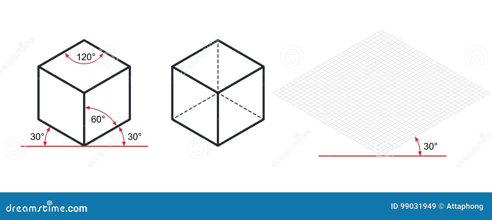 等角图三十degreesangle被应用于它的边
