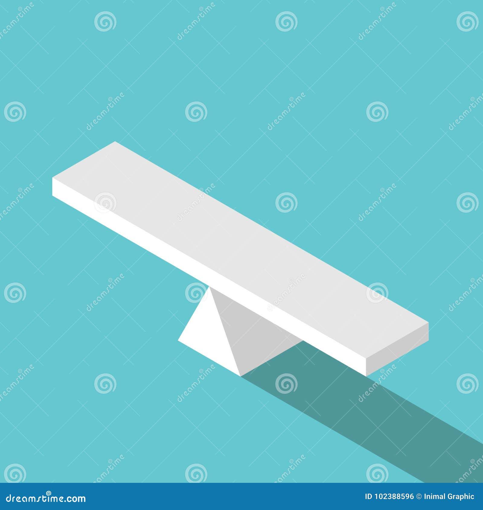 等量空的跷跷板标度
