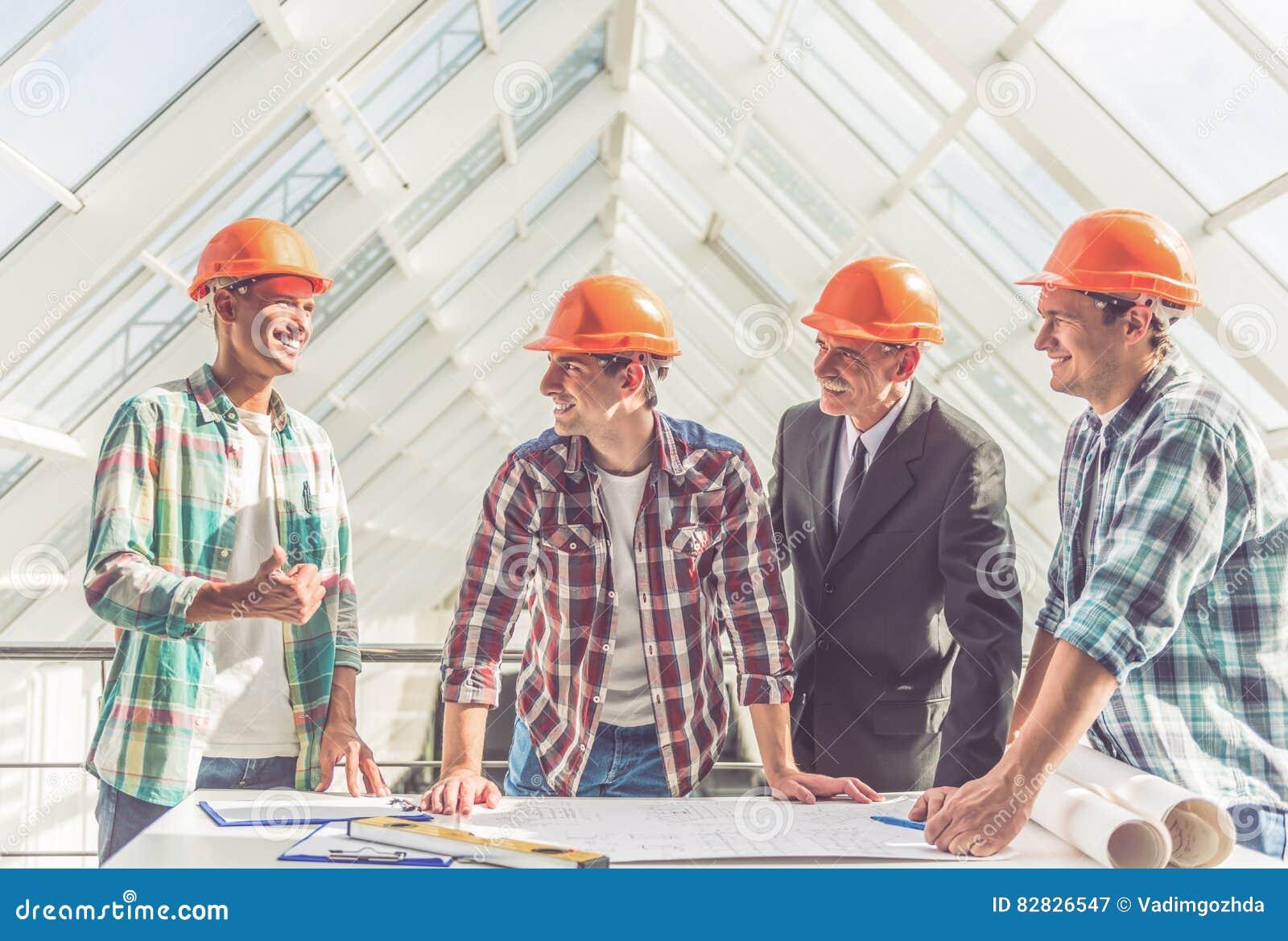 建筑业工作者