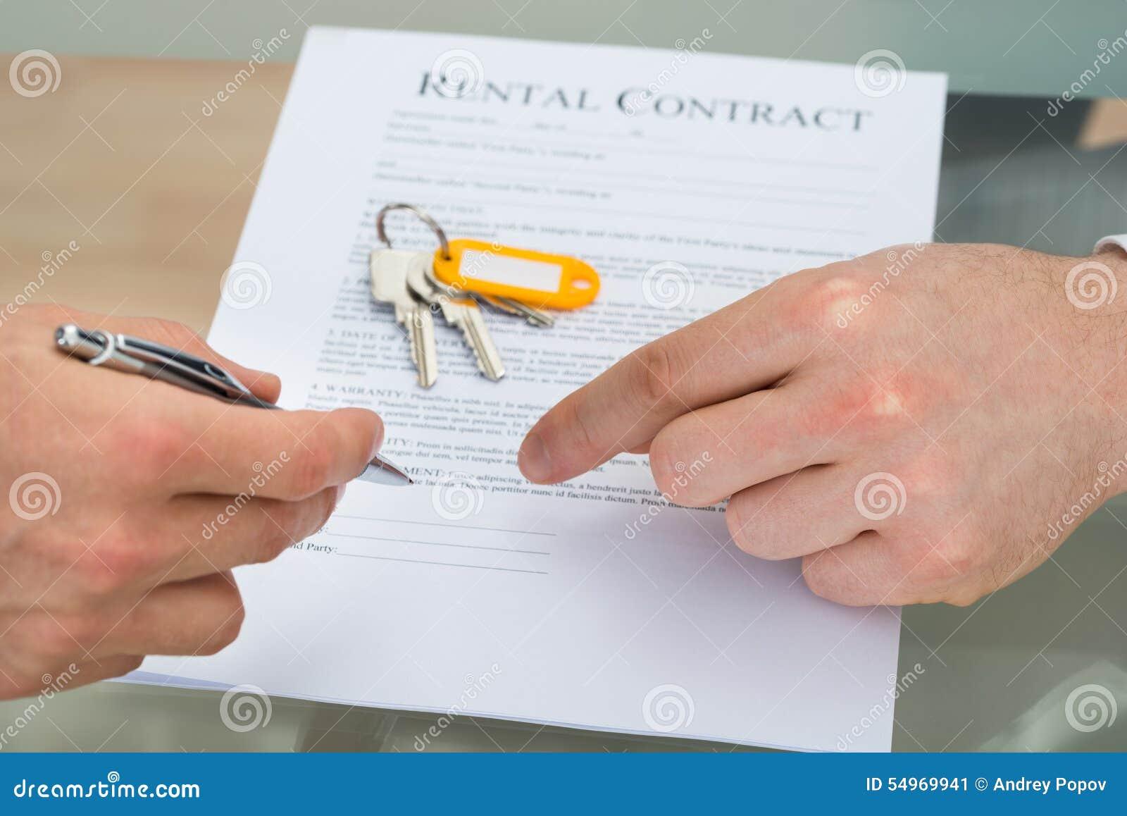签出租合同的人