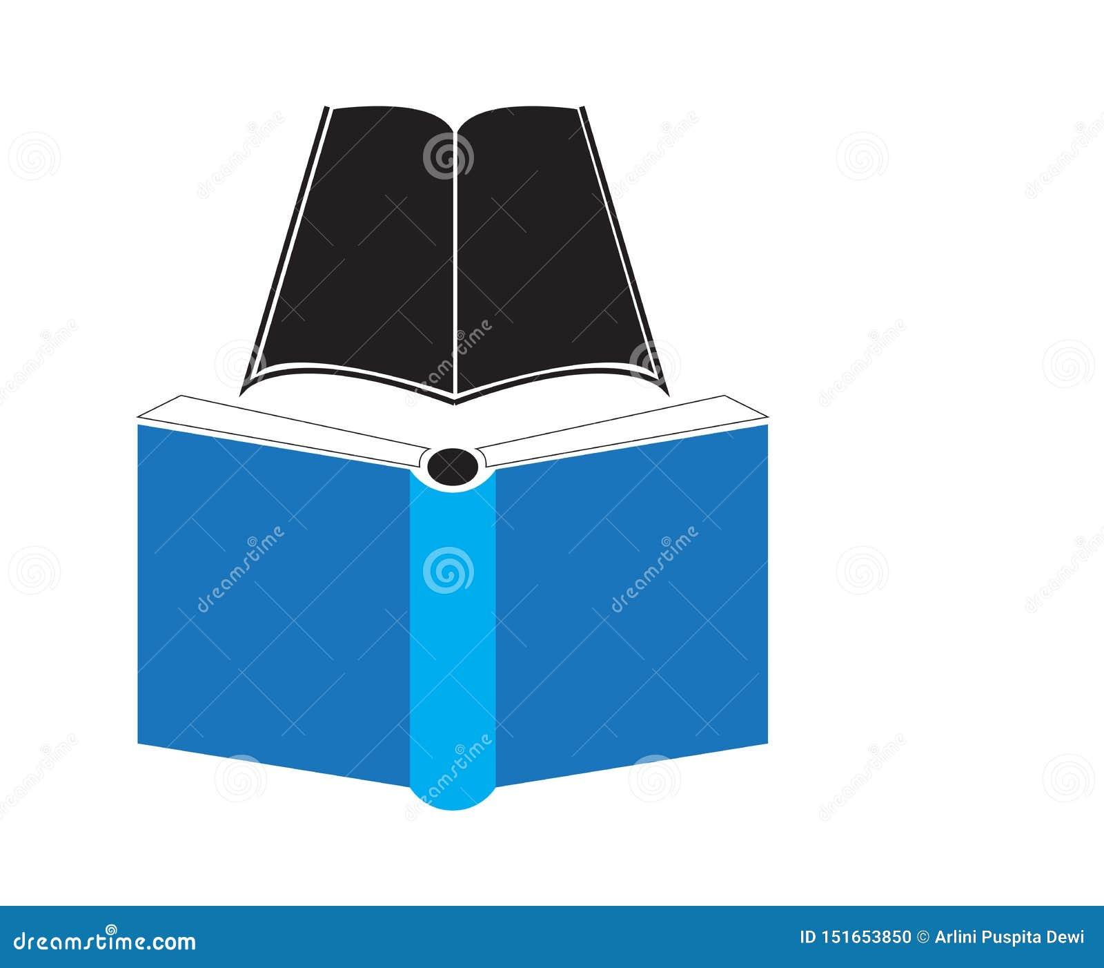 简单的书象,适用于教育例证