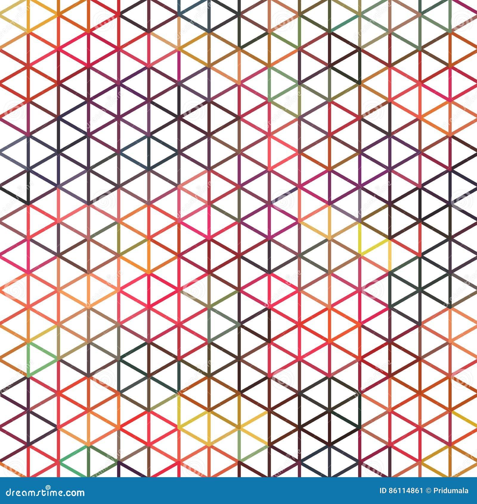 简单的几何三角背景