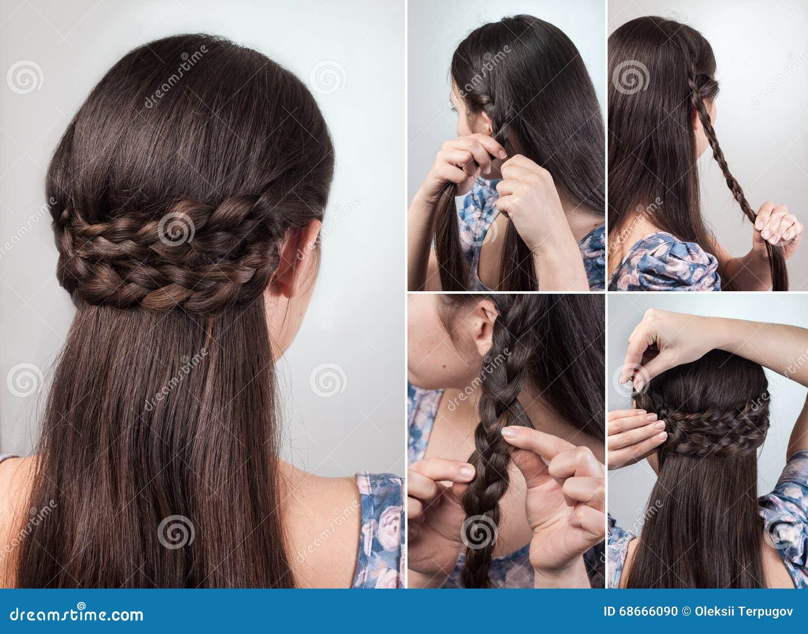 简单的发型讲解