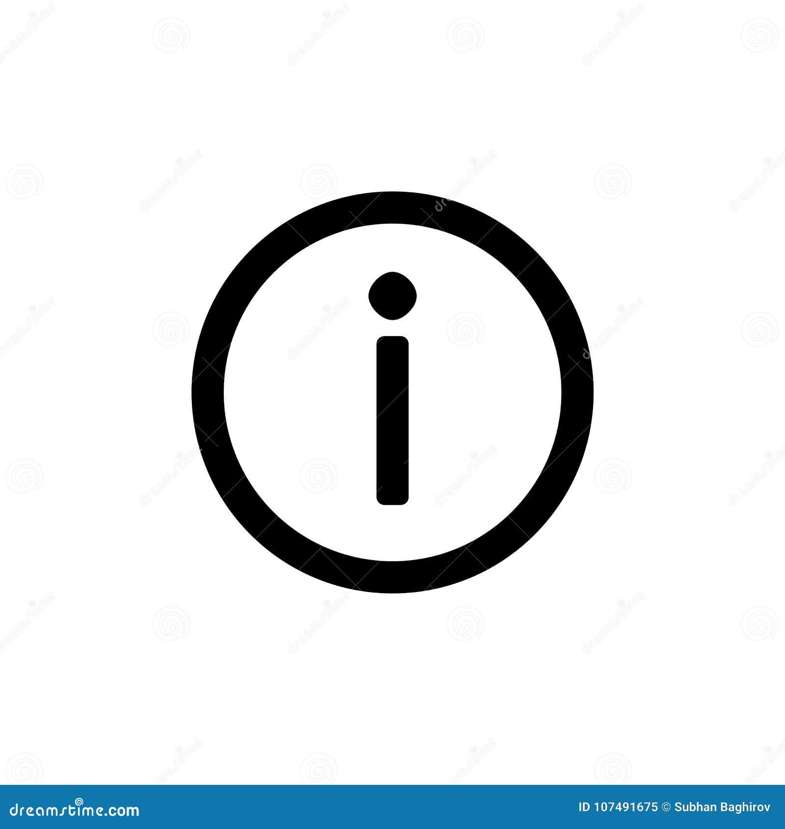 简单的平的样式ui设计的信息象