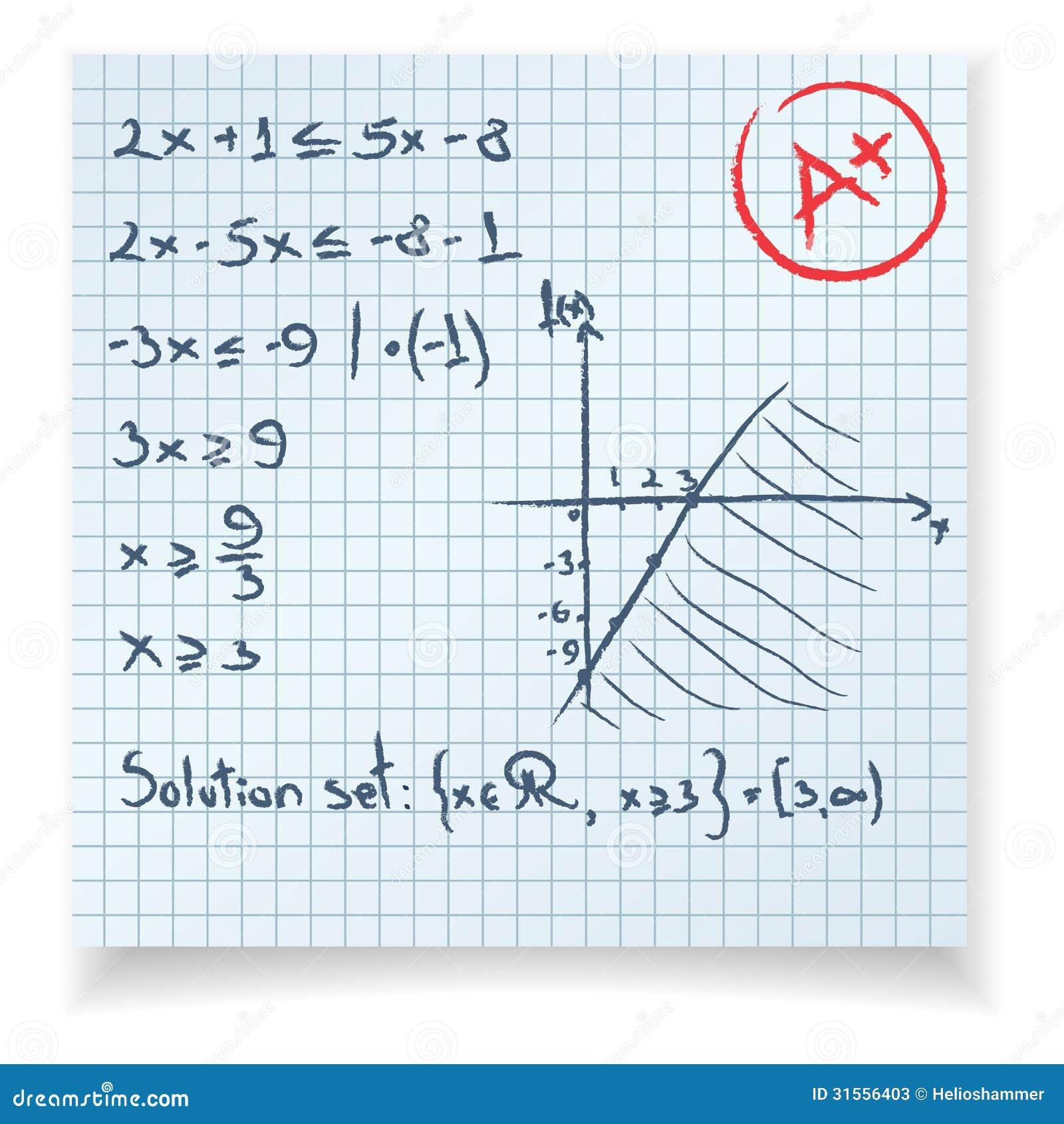 算术测试和检查等式