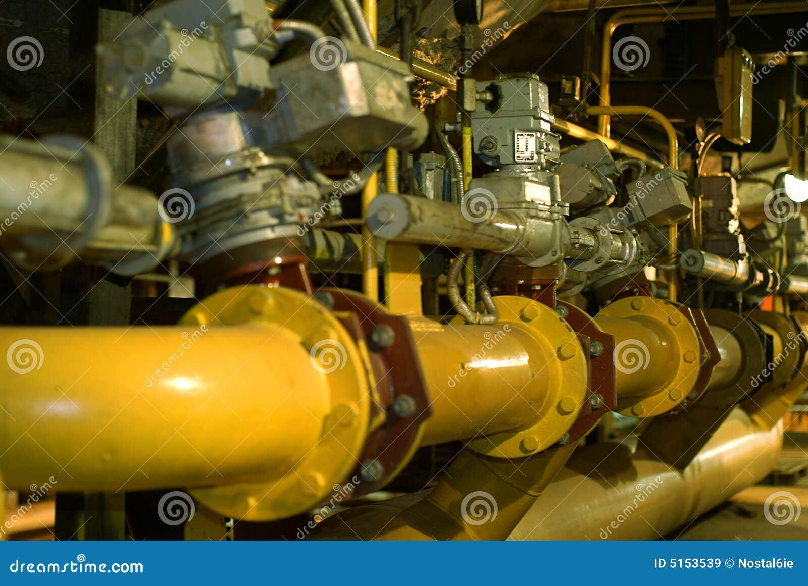 管道系统的处理水