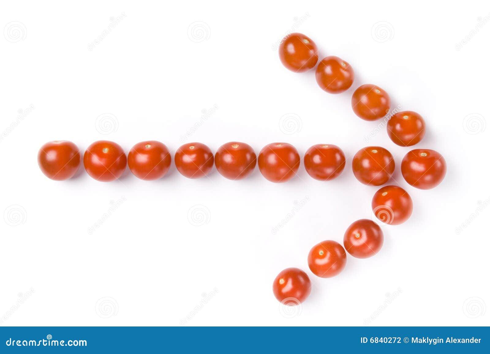 箭头樱桃做蕃茄