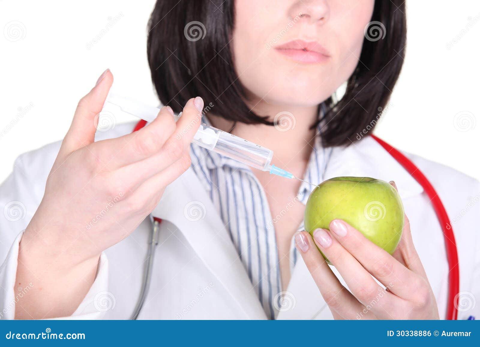 篡改注射药物入苹果