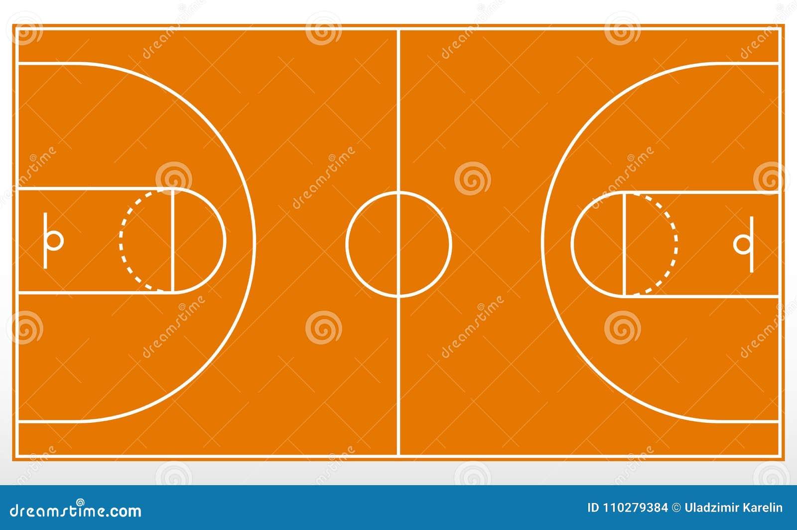 篮球场标注 线概述在篮球场的