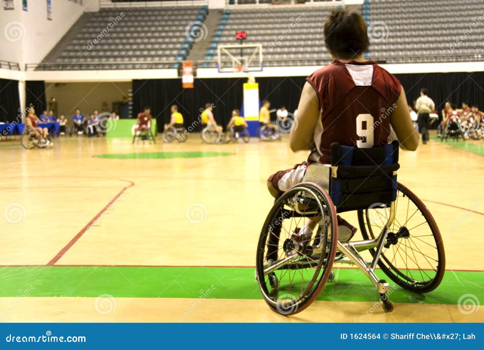 篮球椅子被禁用的人人员轮子