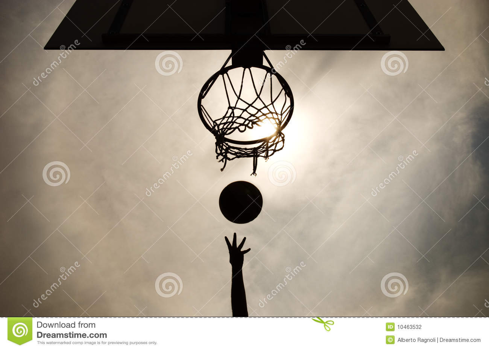 篮球篮射击
