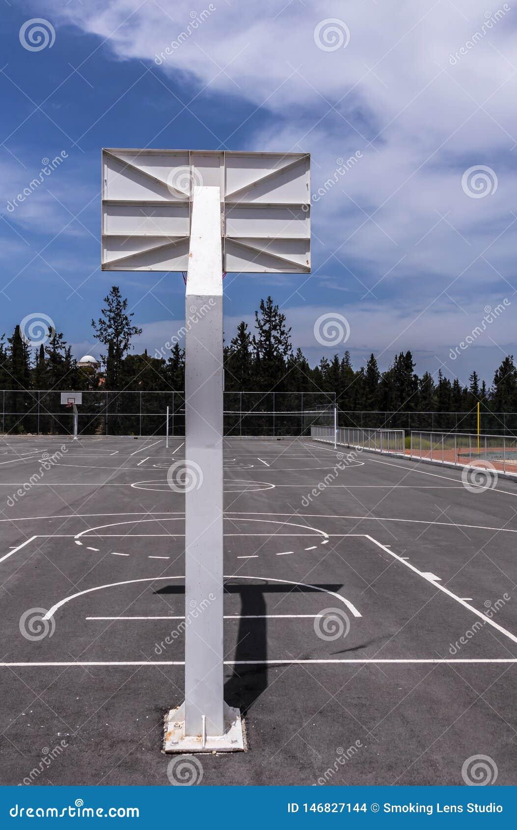 篮球篮backview