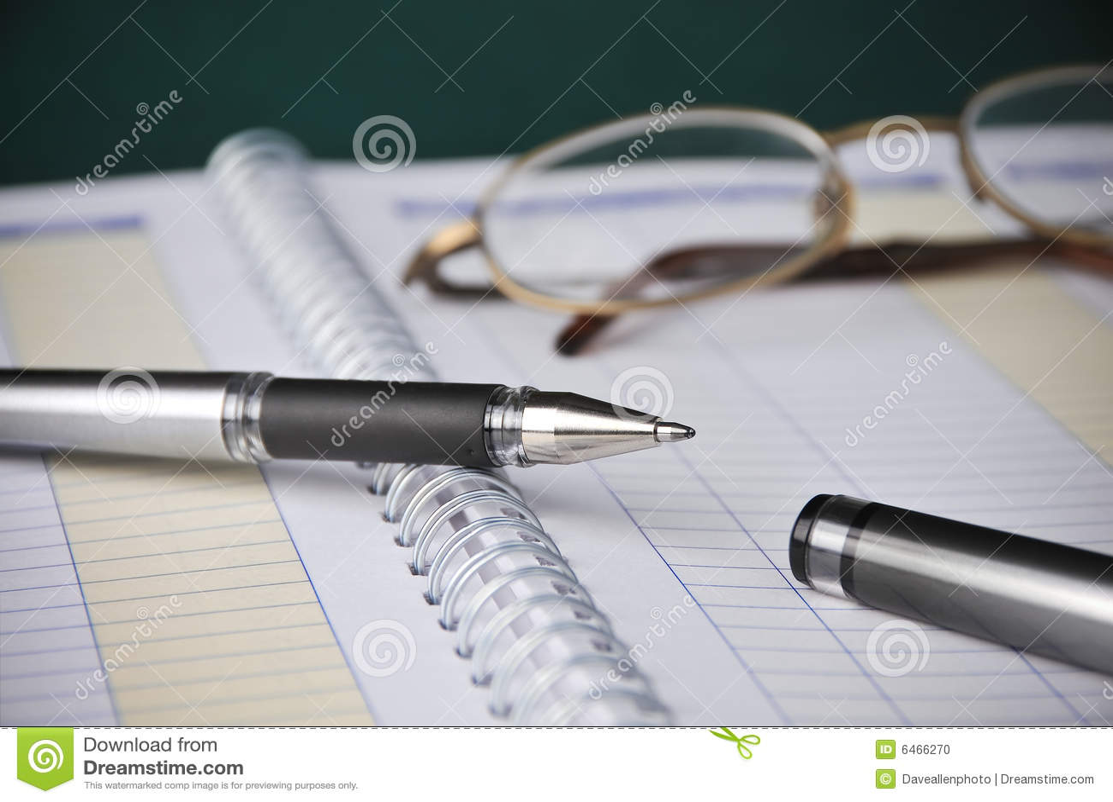 簿记登记企业图表费用笔