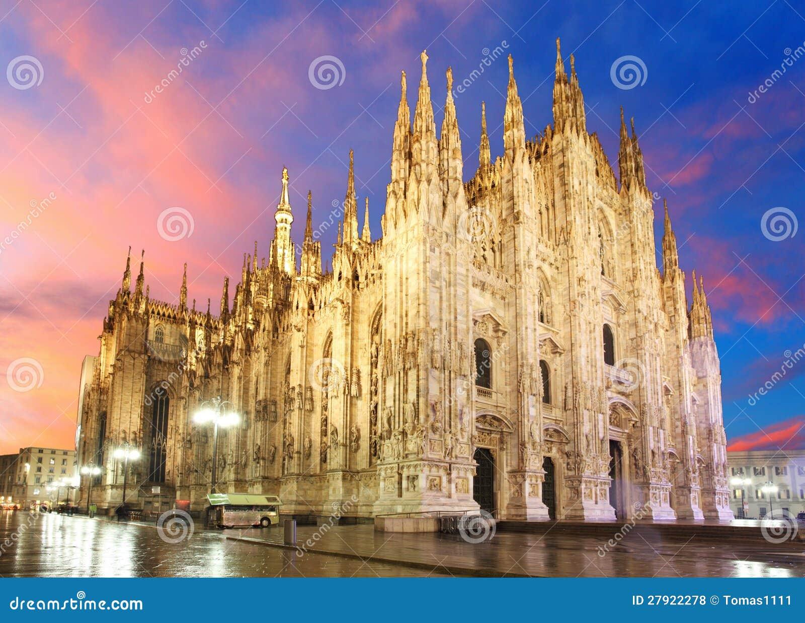 米兰大教堂圆顶
