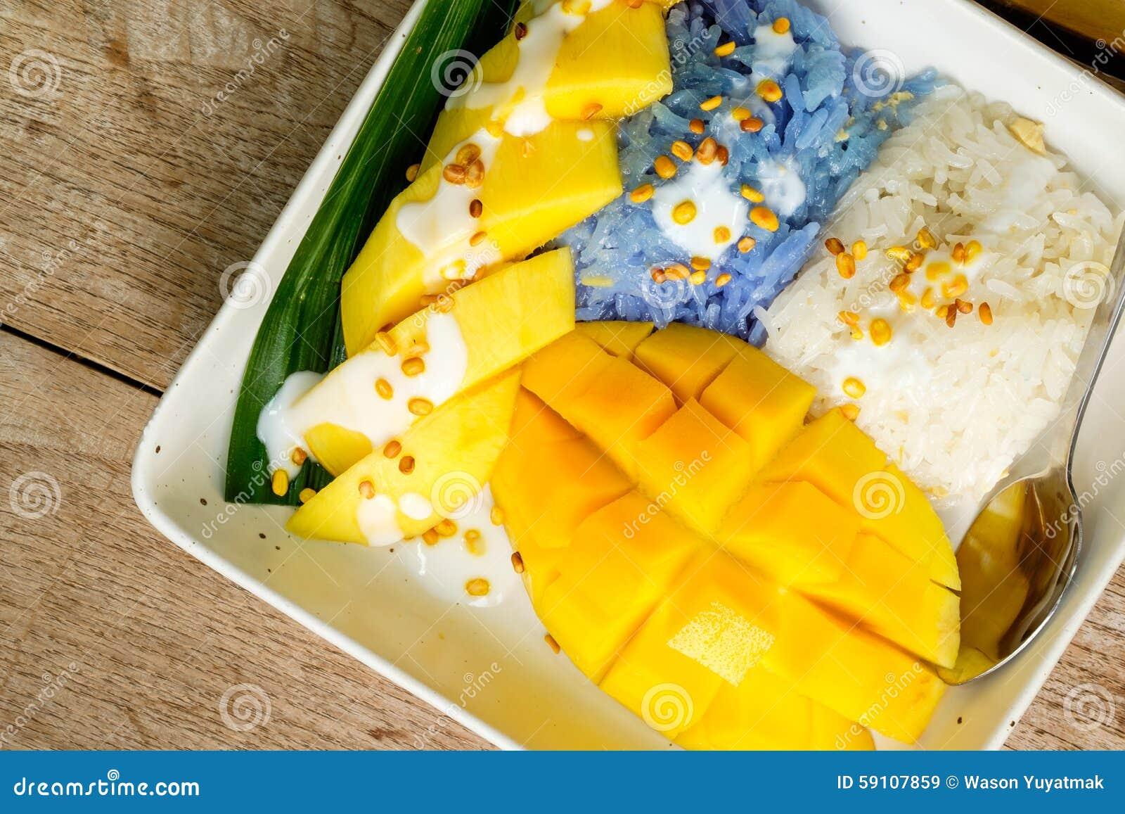粘性芒果米