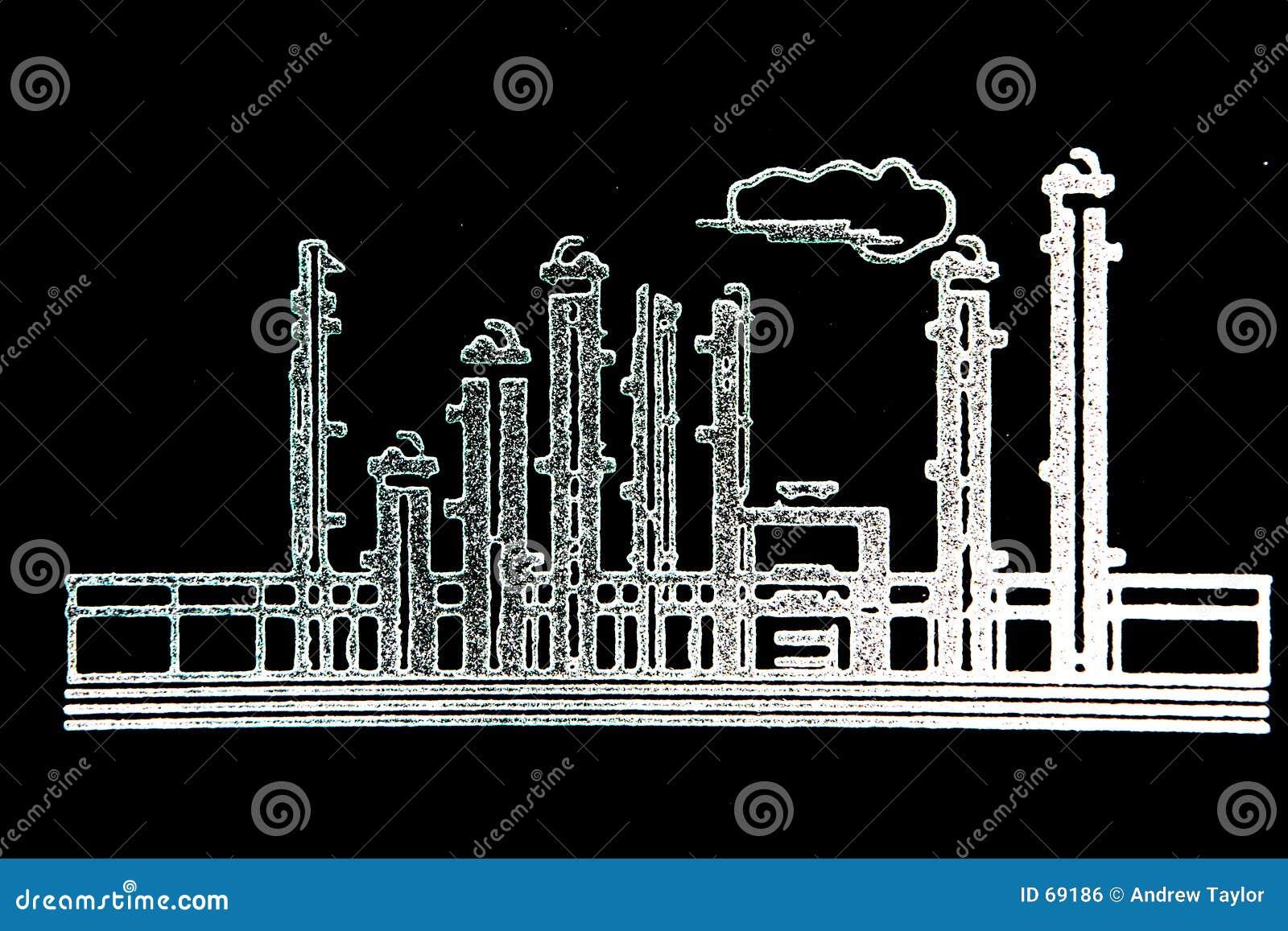 精炼厂草图