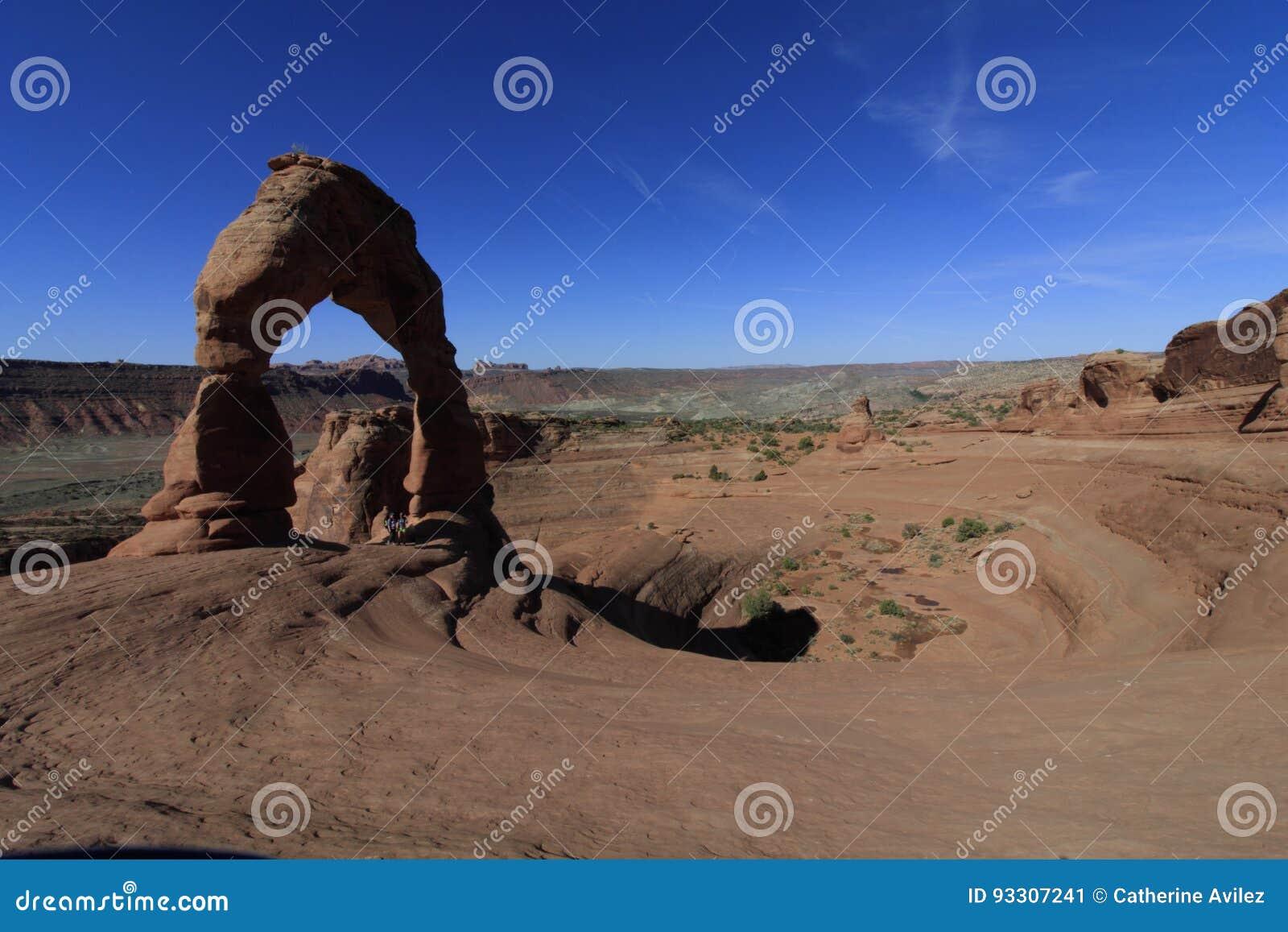 精美曲拱,曲拱国家公园,犹他,美国