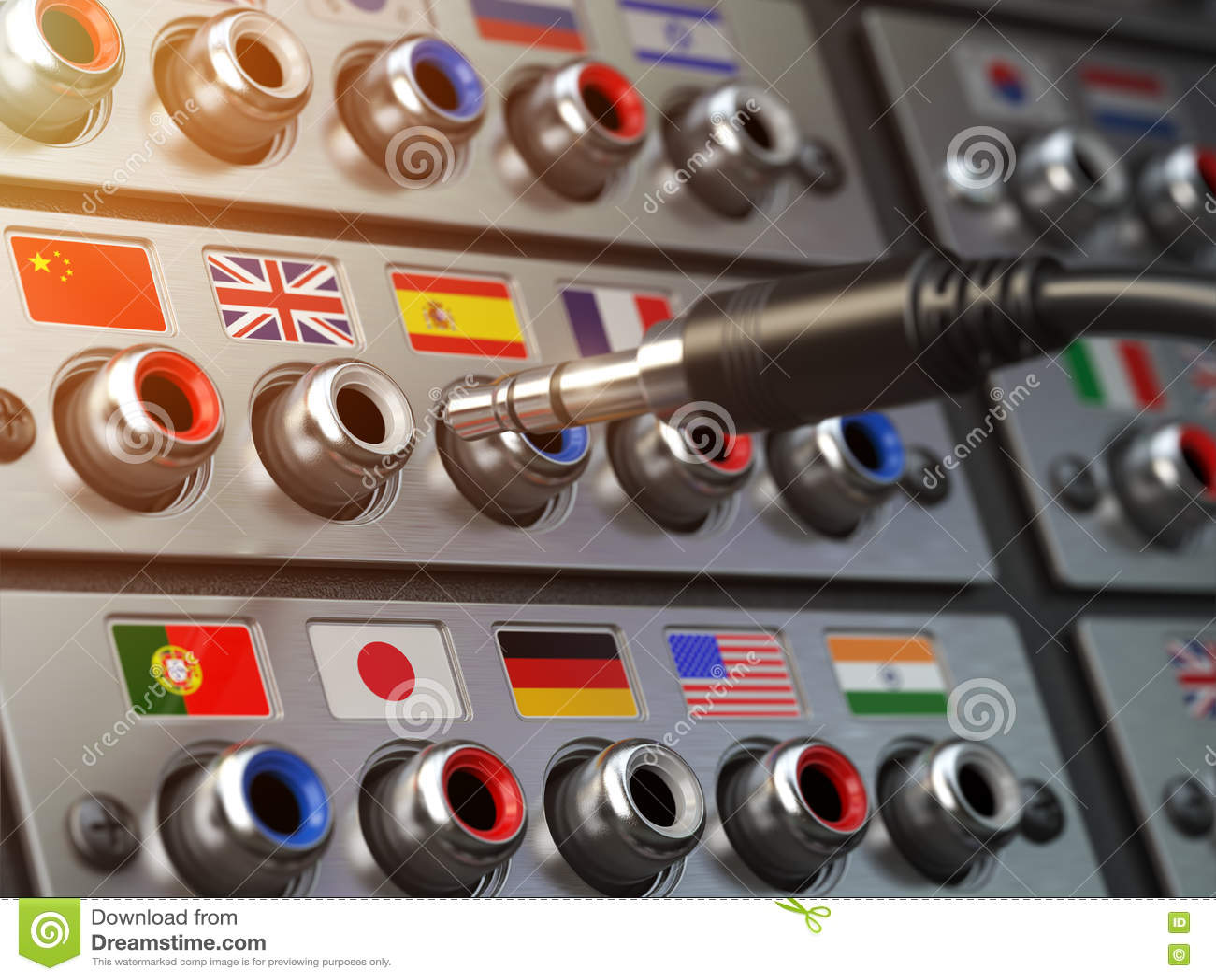 精选的语言 学会,翻译语言或音频指南co