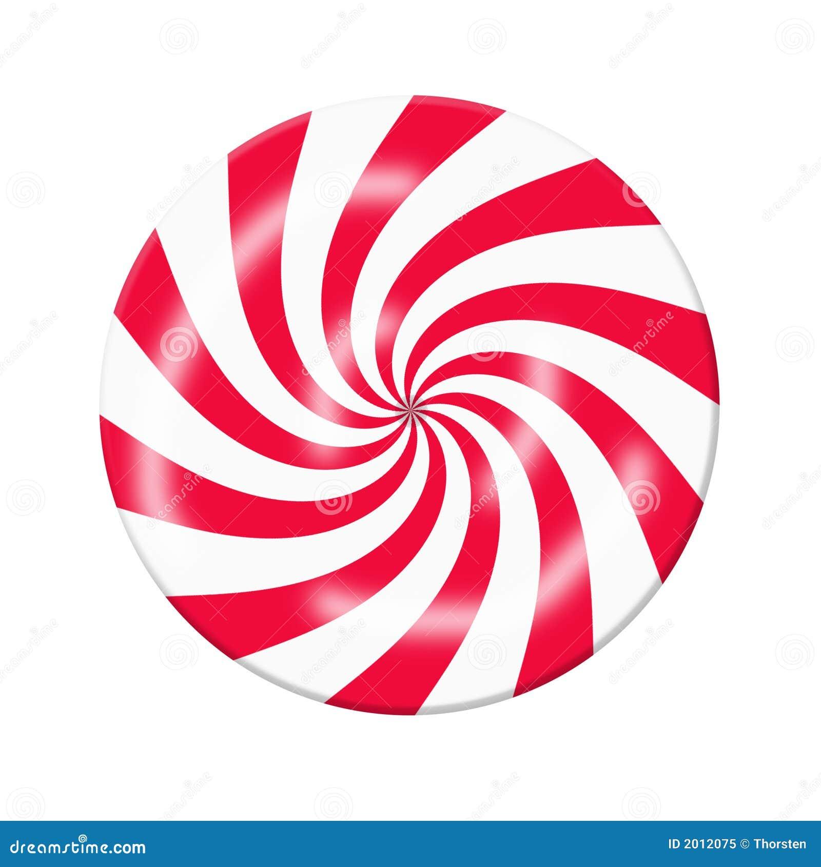 糖果红色白色