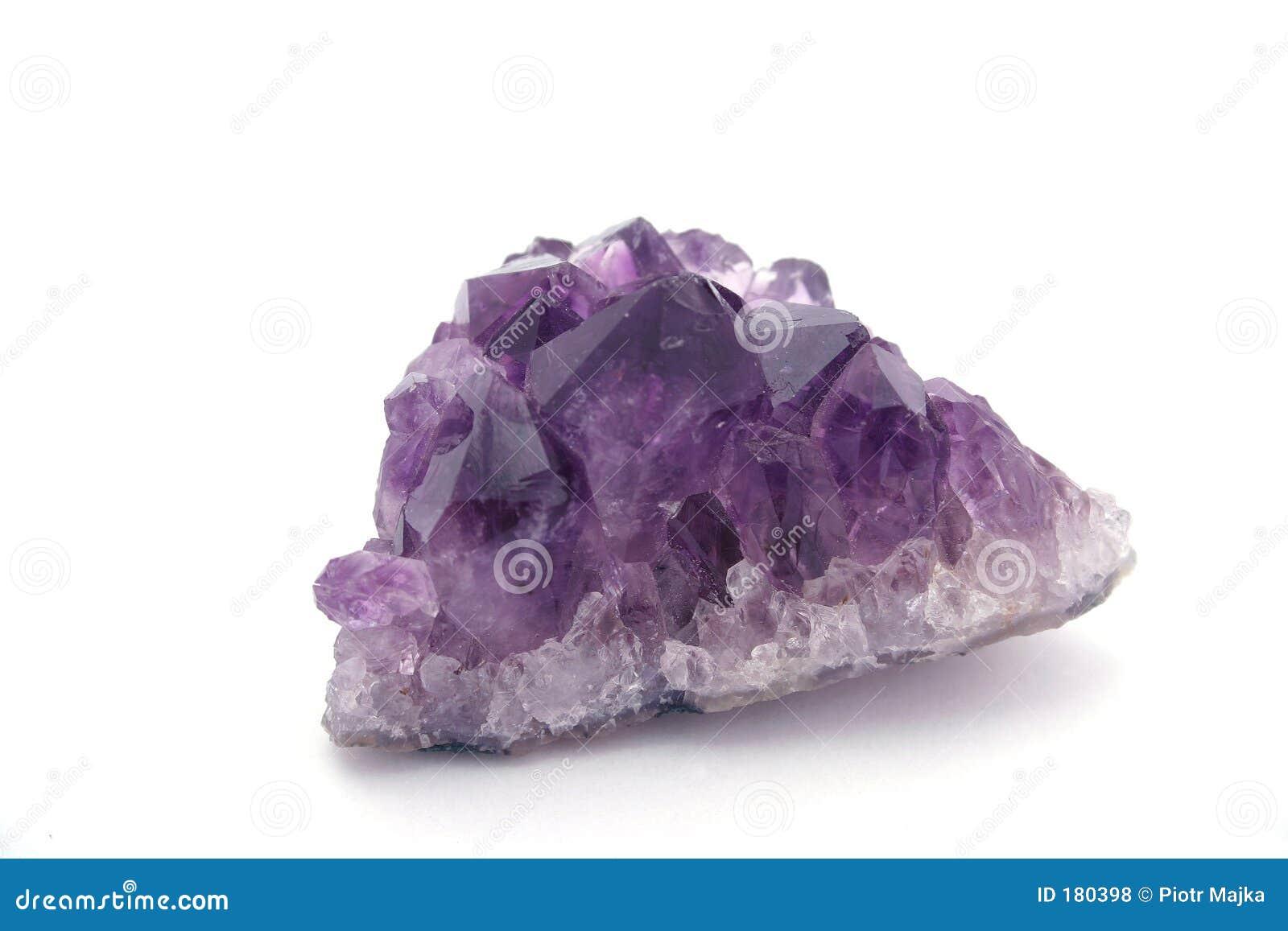 紫色的石英