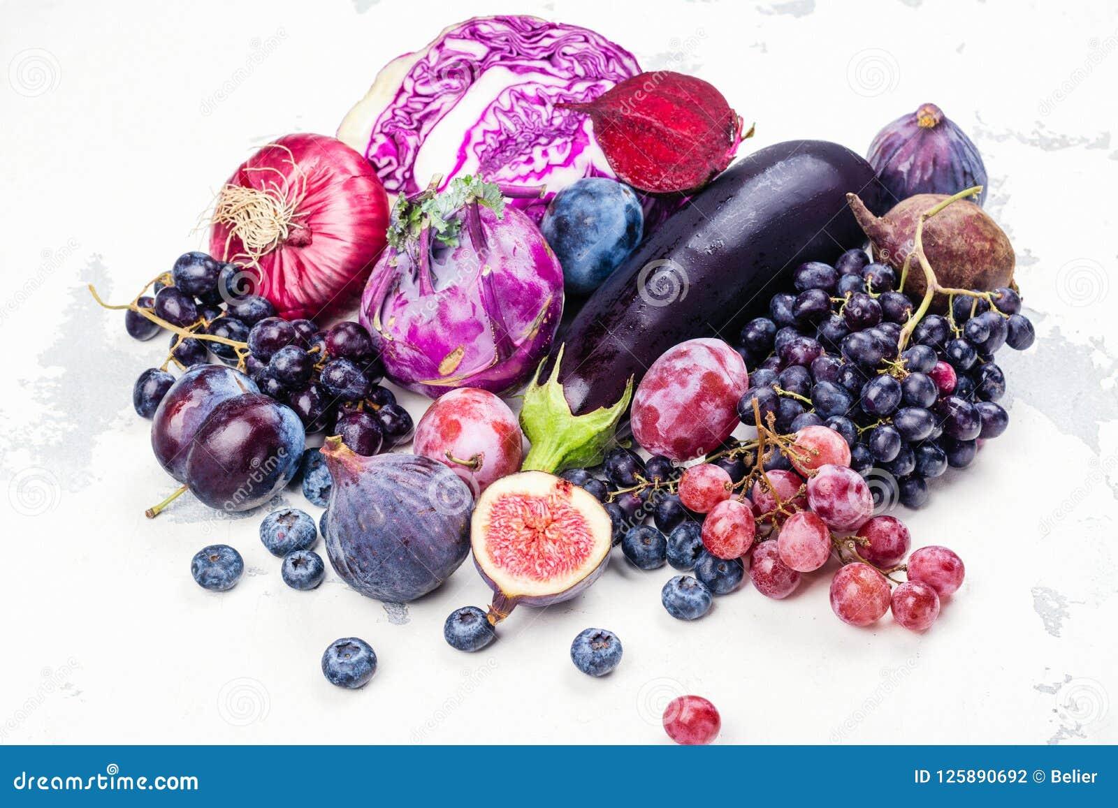 紫色食物的选择