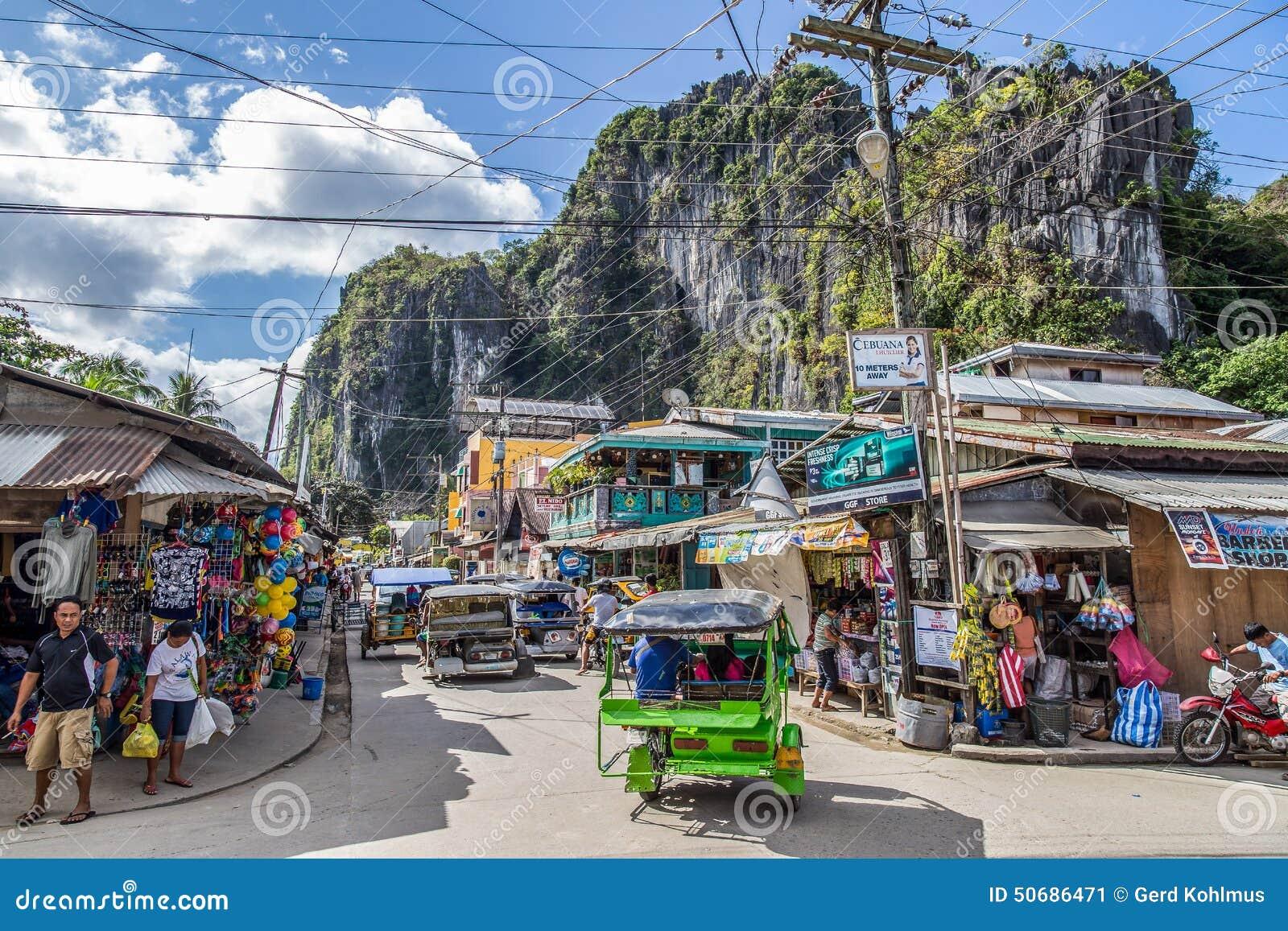Download 繁忙的El Nido市中心 编辑类照片. 图片 包括有 三轮车, 烤肉, 人们, 繁忙, 街道, 中心, 界面 - 50686471