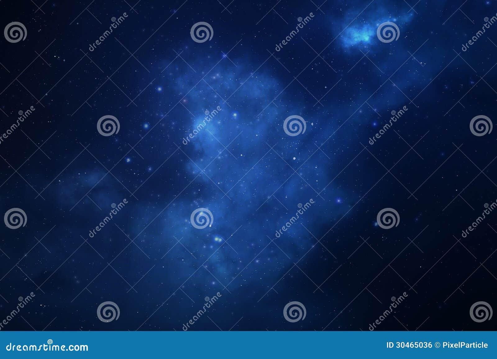 繁星之夜天空空间背景
