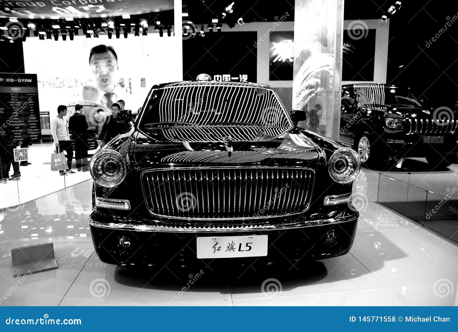 红旗汽车,高尚的秀丽汽车模型
