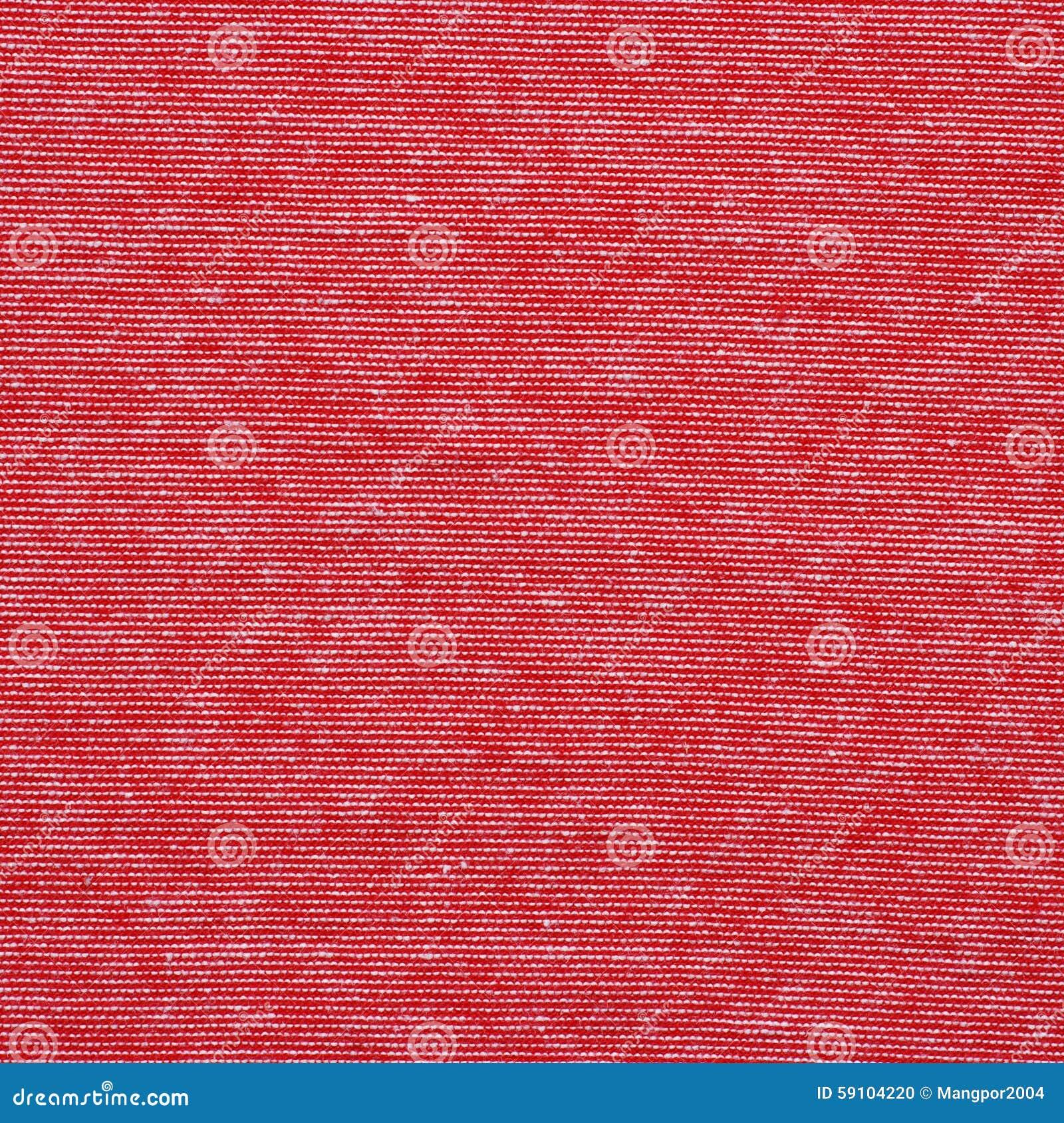 红色和白色镶边棉花聚酯纹理