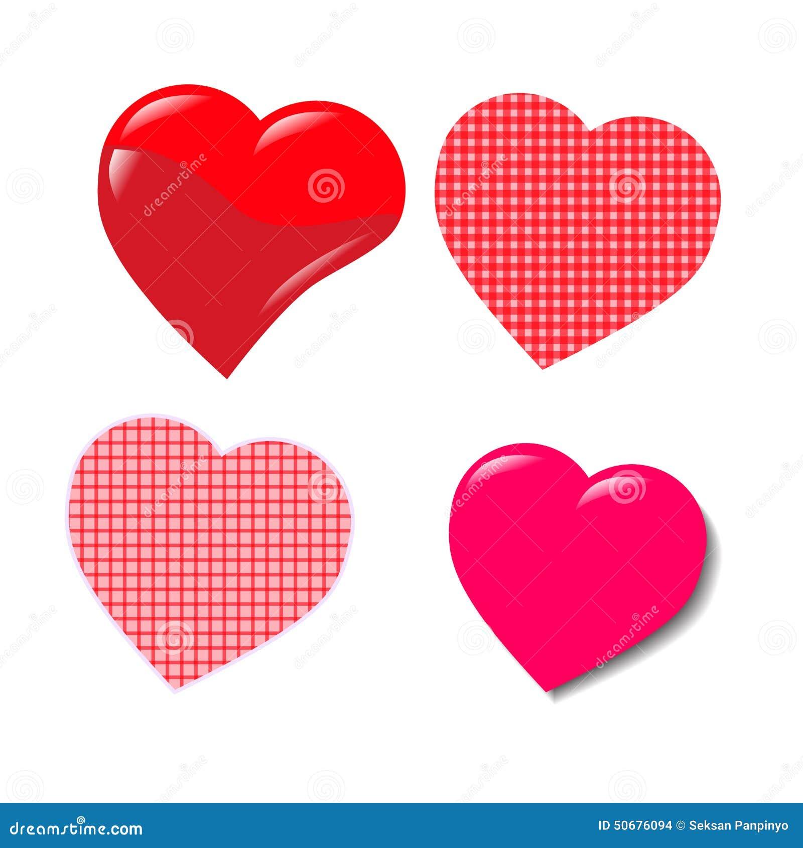 Download 红色心脏华伦泰 向量例证. 插画 包括有 愉快, 设计, 受影响, 恋人, 抽象, boyscout, 例证 - 50676094