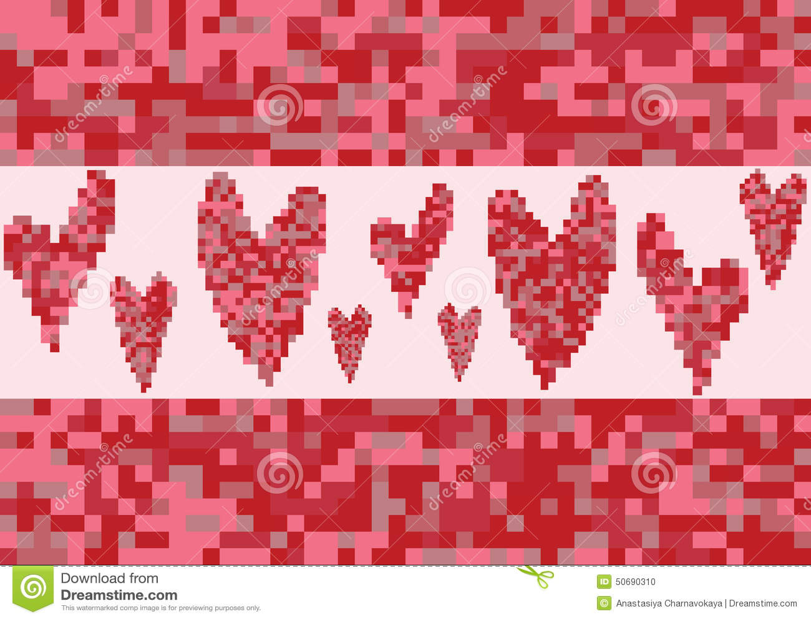Download 红色心脏爱映象点 向量例证. 插画 包括有 刺绣, 庆祝, 高雅, 织品, 方式, 明信片, 抽象, 模式 - 50690310