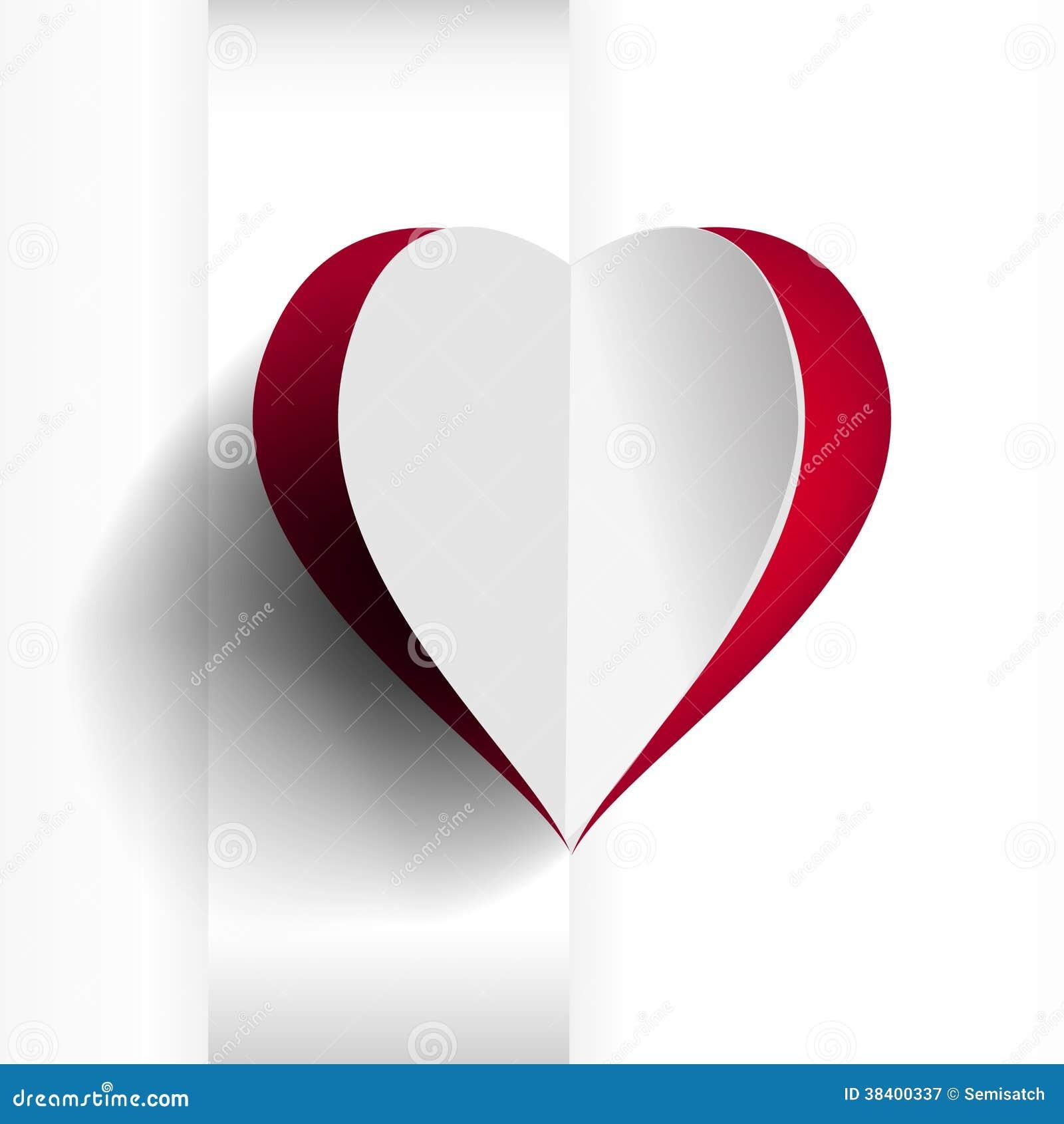红色心脏背景图片
