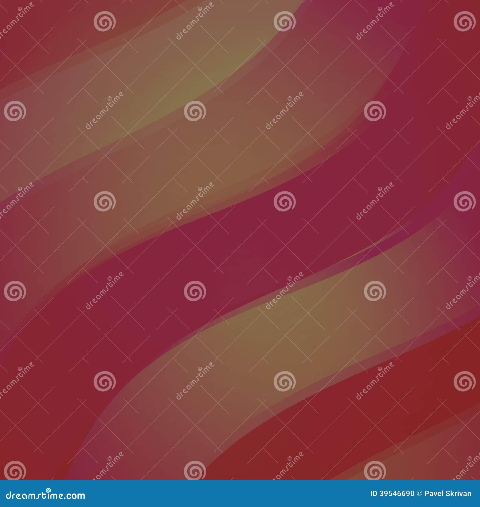 红色抽象波浪