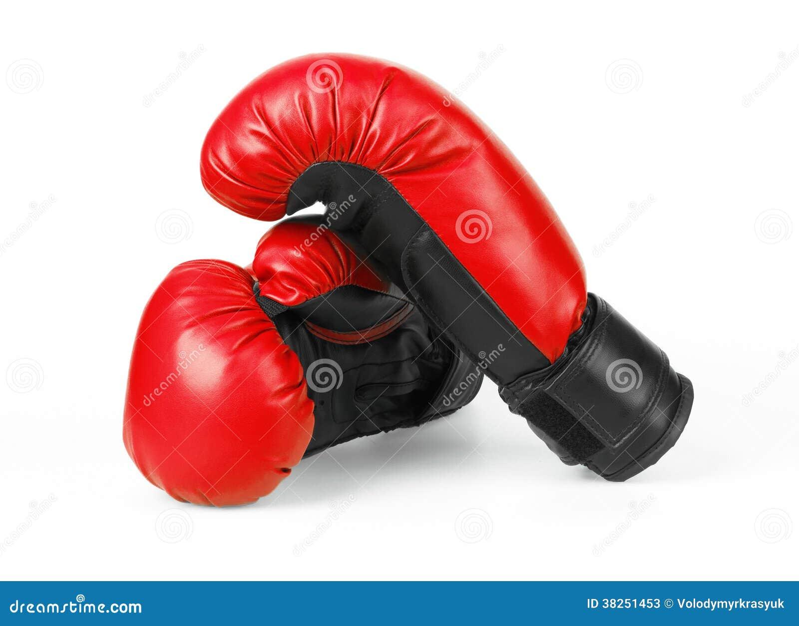 红色拳击手套