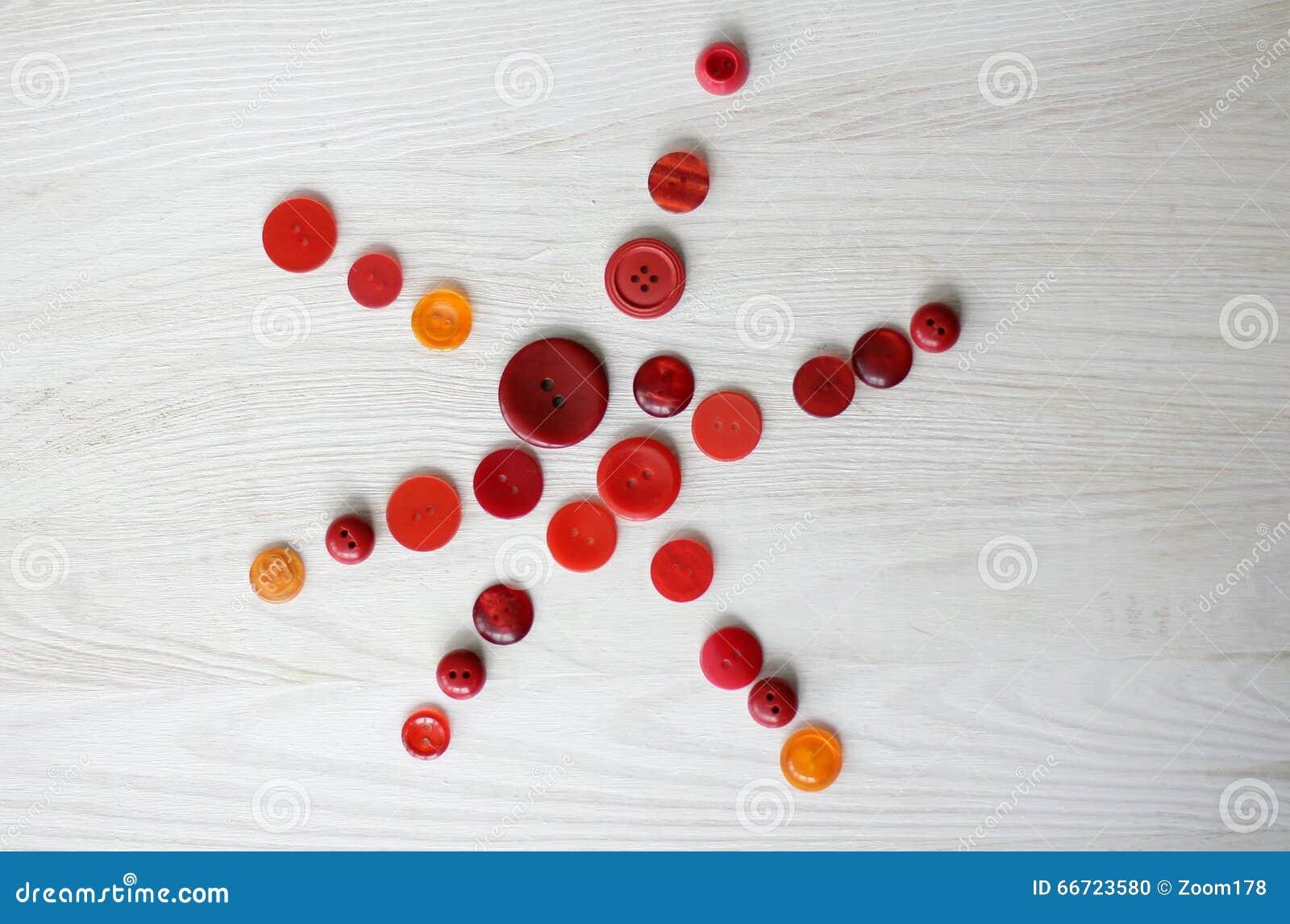 红色按钮星