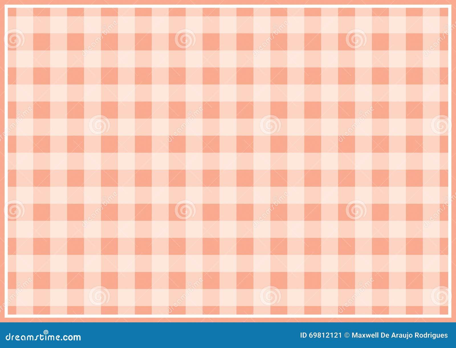 红色方格的背景